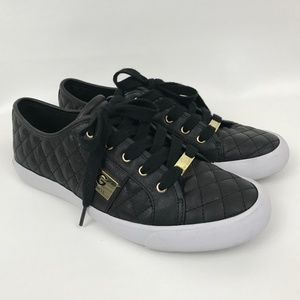 Guess Quilted Sneakers Size 9 Black